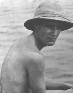 Edward Bullard, 1936, during a geophysics study of the Caribbean
