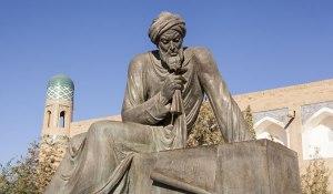 AL-Khwarismi statue