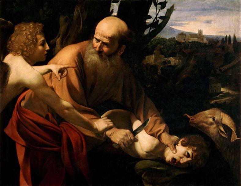 sacrifice_of_isaac-caravaggio_uffizi