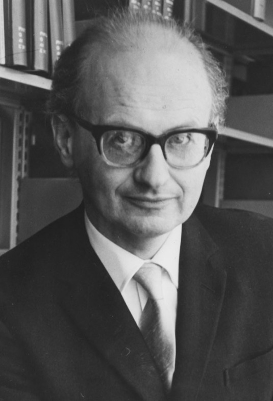 Imre Lakatos, 1960s (LSE Library photo)